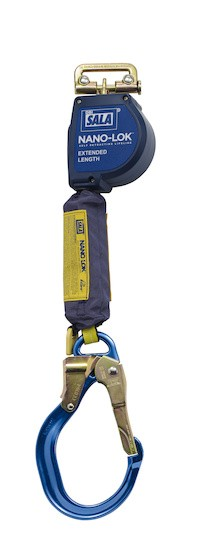 Nano-Lok™ Extended Length Quick Connect Self Retracting Lifeline - Web (#3101589)