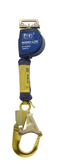 Nano-Lok™ Extended Length Quick Connect Self Retracting Lifeline - Web (#3101590)