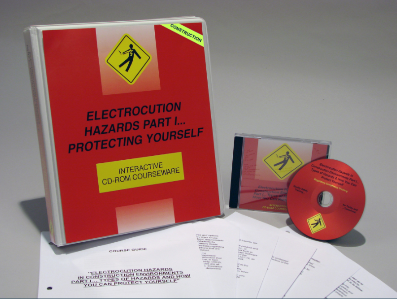 Electrocution Hazards in Construction Environments Part 1 - Types of Hazards and How You Can Protect Yourself Interactive CD (#C0003680ED)