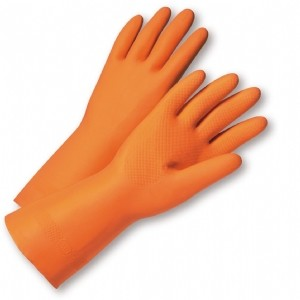 West Chester® Unsupported Neoprene/Latex Blend, Flock Lined with Raised Diamond Grip - 28 Mil  (#2208)