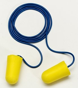 3M E-A-R TaperFit 2 Large Earplugs, corded (#312-1224)