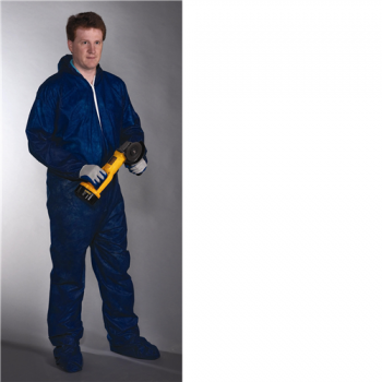 Standard Weight SBP Navy Coverall, Hood & Boot (#3584)