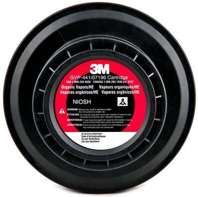 3M™ Powered Air Purifying Respirator (PAPR) Organic Vapor/High Efficiency Cartridge (#GVP-441)