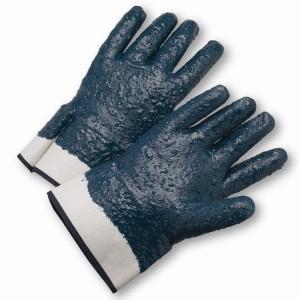 Fully Coated Nitrile Rough Finish Gloves (#4550RFFC)