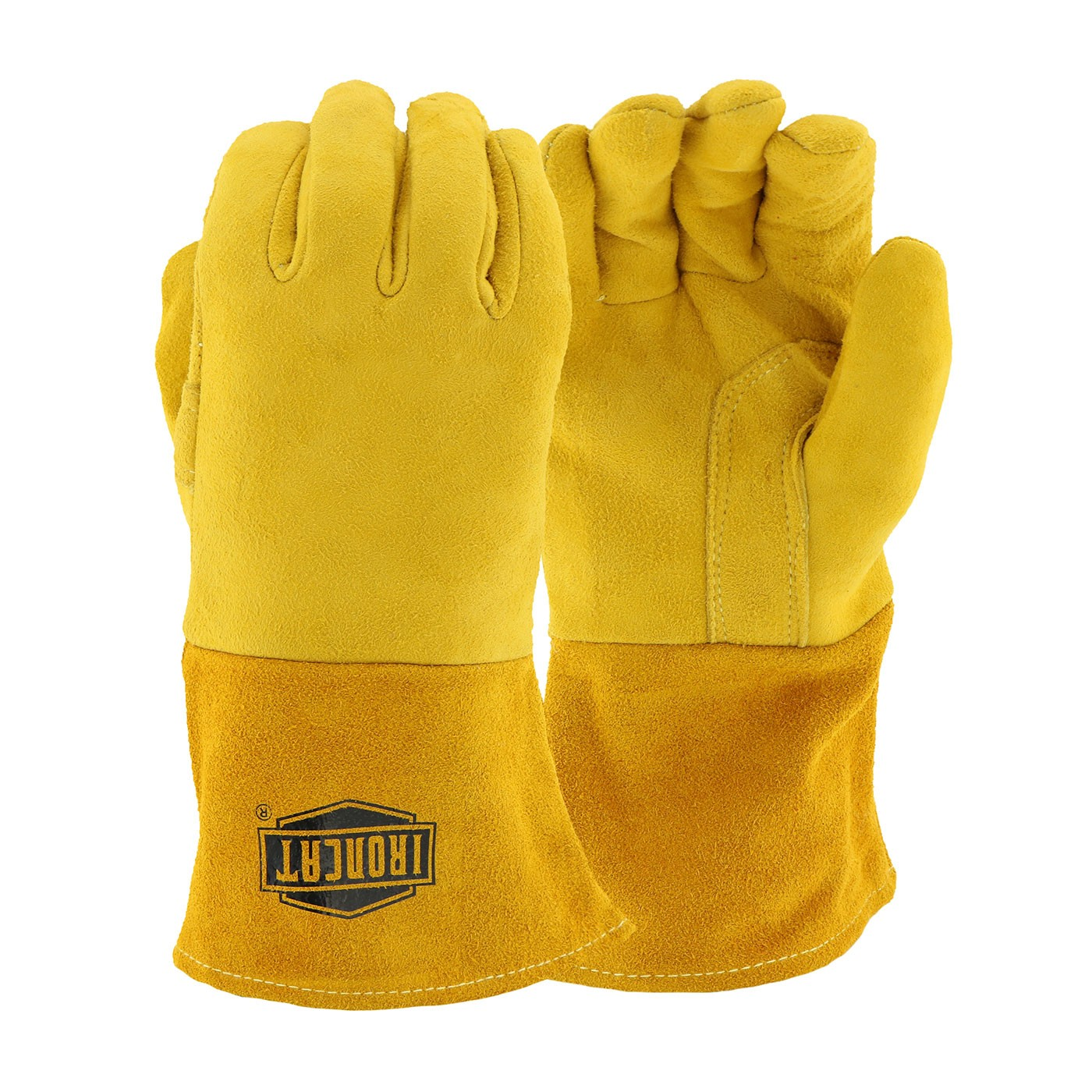 Ironcat® Ironcat® Premium Split Deerskin Leather Mig Glove with Cotton Foam Liner and Kevlar® Stitching  (#6030)