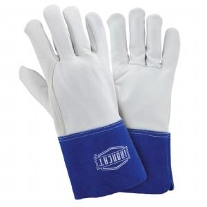 Ironcat® Ironcat® Top Grain Goatskin Leather Tig Welder's Glove with Kevlar® Stitching - Split Leather Gauntlet Cuff  (#6142)