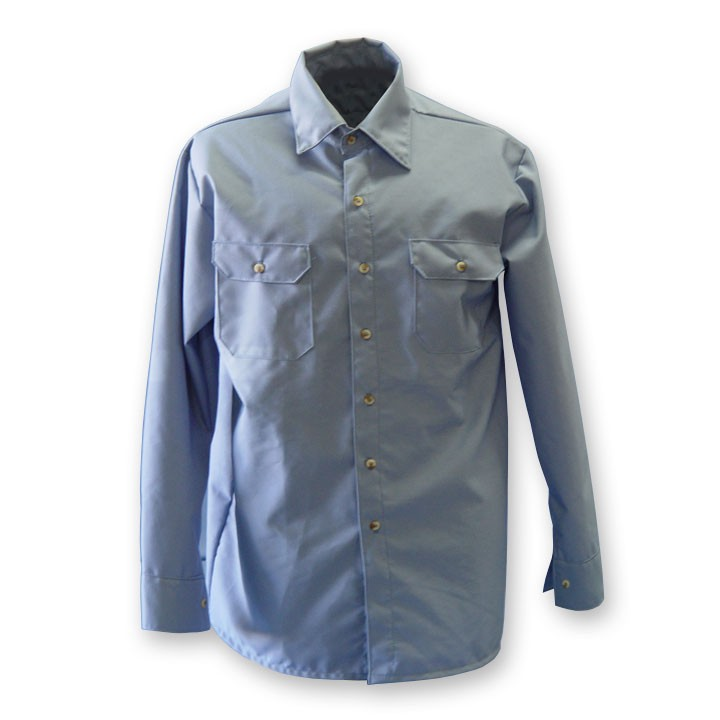 7 oz. Medium Blue Ultra Soft Work Shirt (#625-USB)