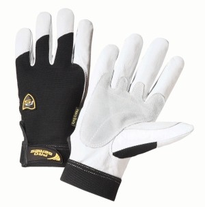 Ironcat® Ironcat® Reinforced Top Grain Goatskin Leather Palm Glove with Spandex Back  (#86550)
