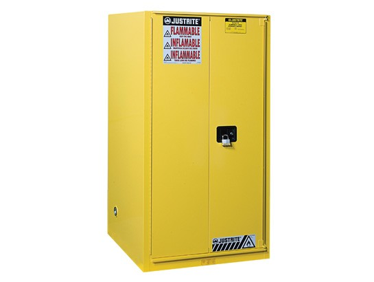 Sure-Grip EX Flammable Safety Cabinet, 1 Bi-Fold Self-Close Doors, 60 Gallon Cap. (#896080)