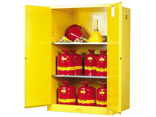 Sure-Grip EX Flammable Safety Cabinet, Manual Doors, 90 Gallon Cap. (#899000)