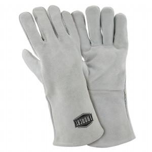 Ironcat® Ironcat® Shoulder Split Cowhide Leather Welder's Glove with Cotton Liner  (#9010)