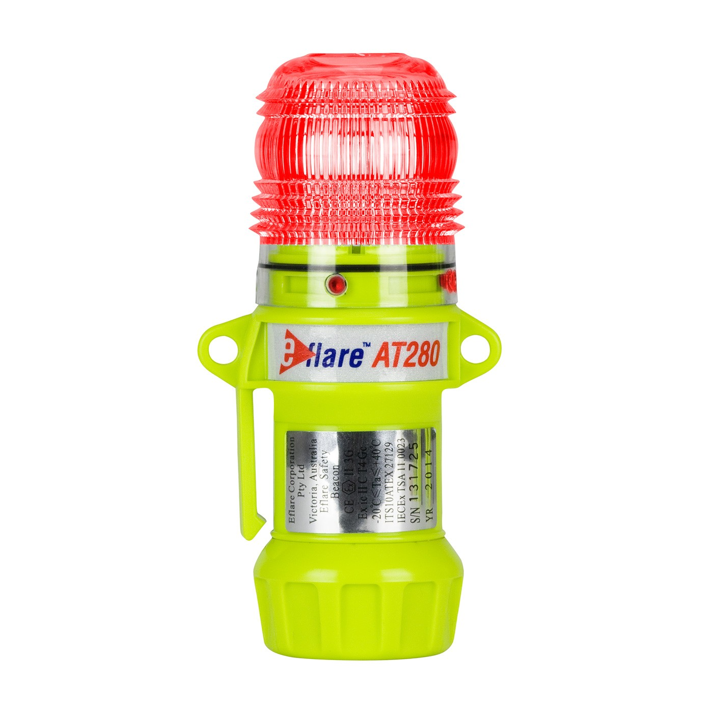 "Eflare™ 6"" Safety & Emergency Beacon - Flashing / Steady-On Red  (#939-AT280-R)"
