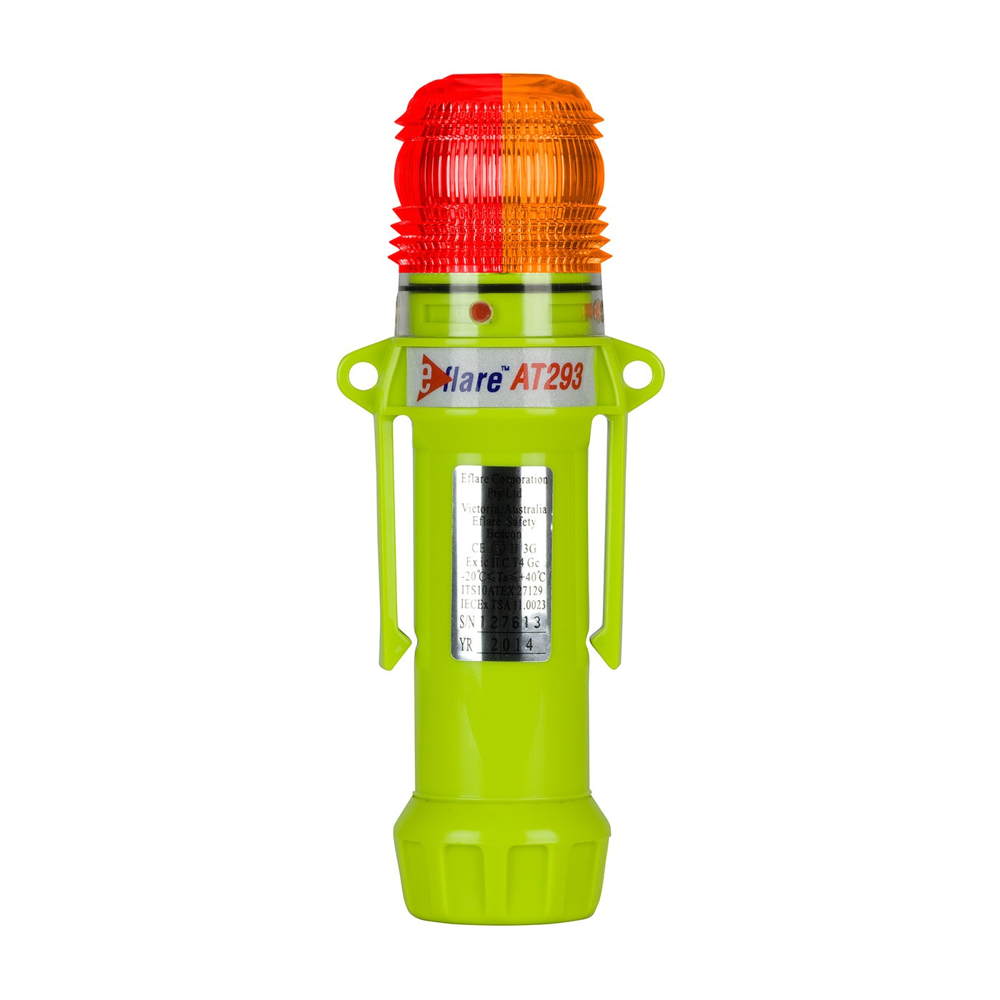 """Eflare™ 8"""" Safety & Emergency Beacon - Alternating Red/Amber  (#939-AT293-R/A)"""