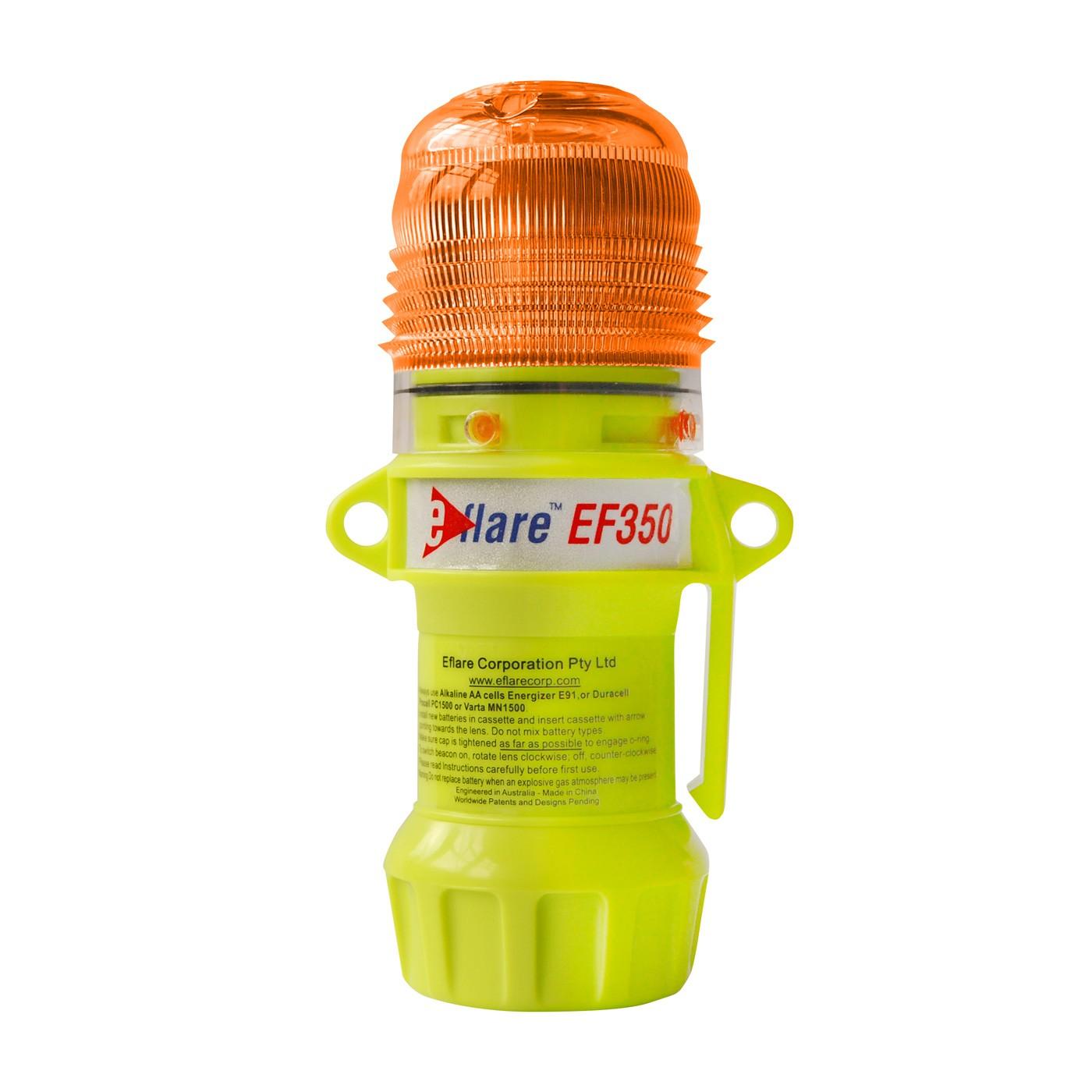 """Eflare™ 6"""" Safety & Emergency Beacon - Flashing Amber  (#939-EF350-A)"""