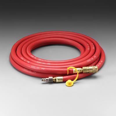 3M™ Supplied Air Hose, Industrial Interchange Fittings, Low Pressure, 25' (#W-3020-25)