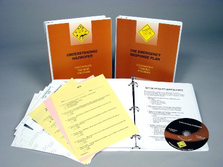 HAZWOPER: Emergency Response Awareness Package DVD Program (#V000HZ69EW)