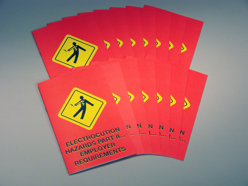 Electrocution Hazards in Construction Environments Part 2 - Employer Requirements Booklets (#B0001530EM)