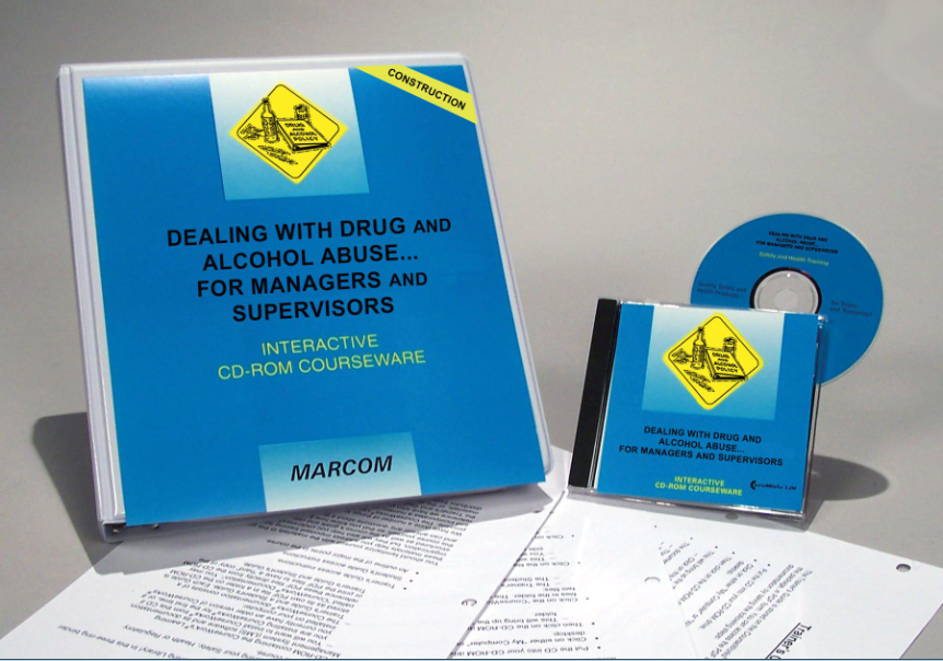Drug and Alcohol Abuse for Managers and Supervisors in Construction Environments Interactive CD (#C0002850ED)