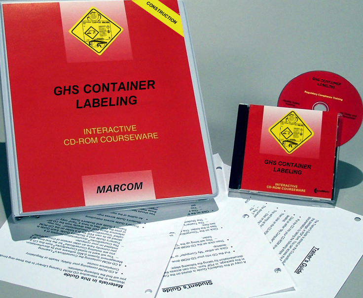 GHS Container Labels in Construction Environments Interactive CD (#C0003590ED)