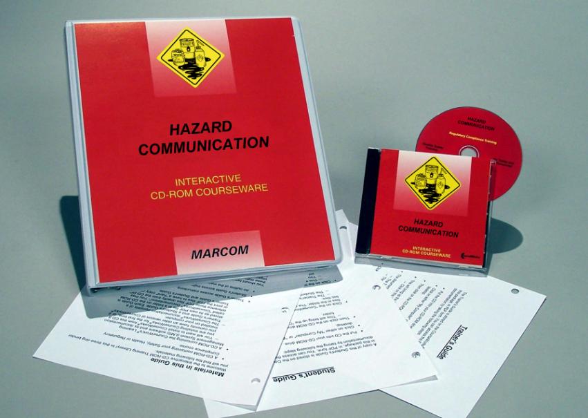 Hazard Communication in Industrial Environments Interactive CD (#C0003500ED)