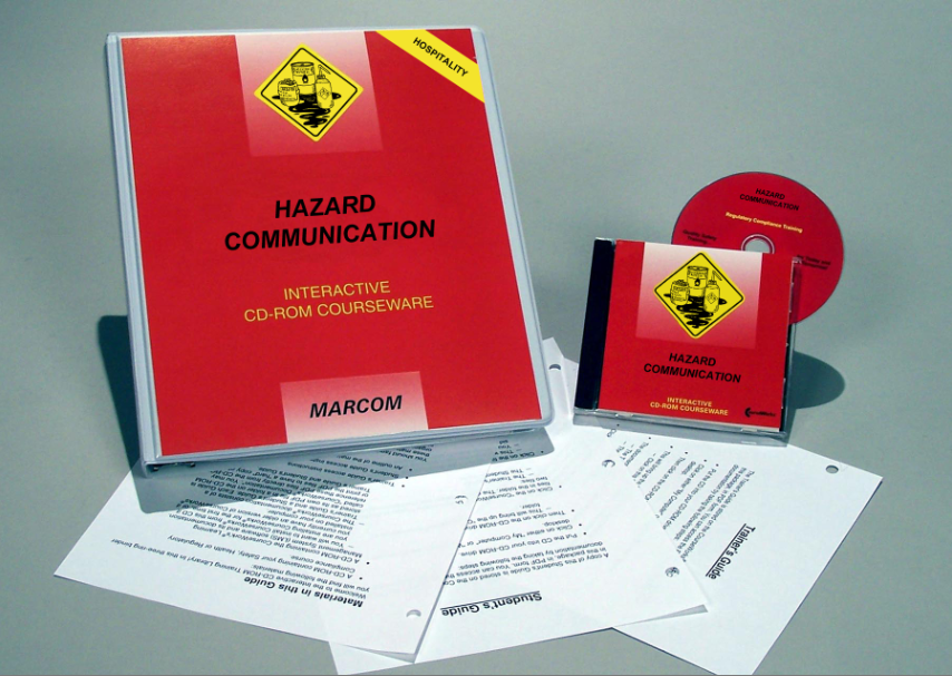 Hazard Communication in the Hospitality Environments Interactive CD (#C0003540ED)