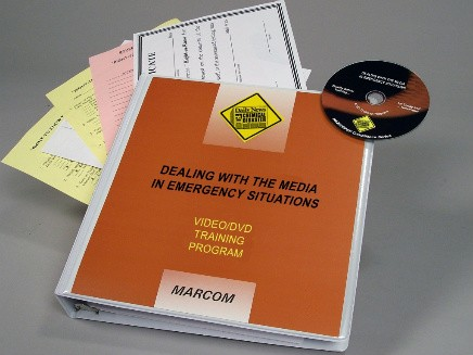HAZWOPER: Dealing with the Media in Emergency Situations DVD Program (#V000DAL9EW)