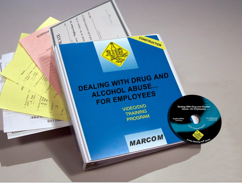 Drug and Alcohol Abuse for Employees in Construction Environments DVD Program (#V0002849ET)