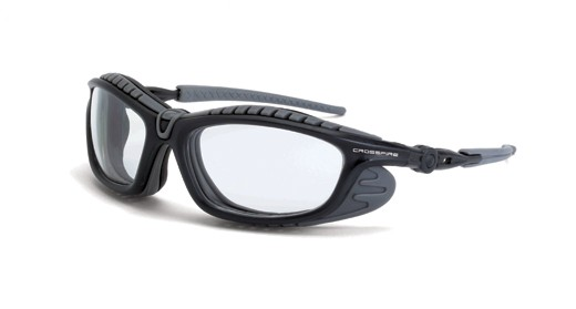 CrossFire Solar Eclipse Foam Lined, clear anti-fog (#26164AF)