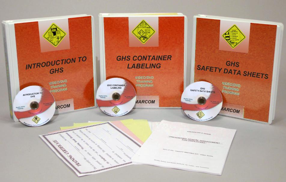 GHS Set of 3 DVD Training Programs (#V0001579EO)