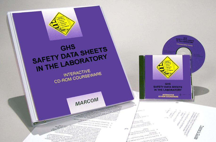 GHS Safety Data Sheets in the Laboratory Interactive CD (#C0001780ED)