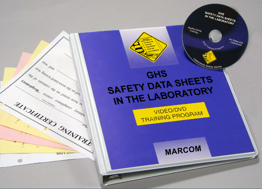 GHS Safety Data Sheets in the Laboratory DVD Program (#V0001789EL)