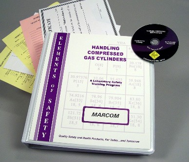 Compressed Gas Cylinders in the Laboratory DVD Program (#V0001969EL)