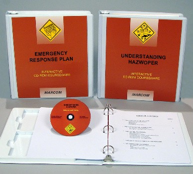 HAZWOPER: Emergency Response Awareness Package Interactive CD (#C000HZ60ED)