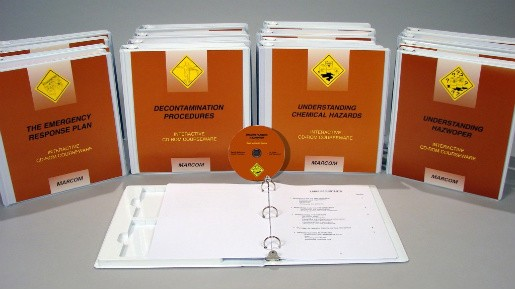 HAZWOPER: General Training Package Interactive CD (#C000HZ20ED)