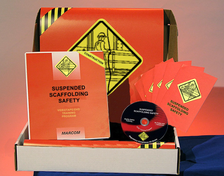 Suspended Scaffolding Safety in Construction Environments DVD Kit (#K0000759ET)