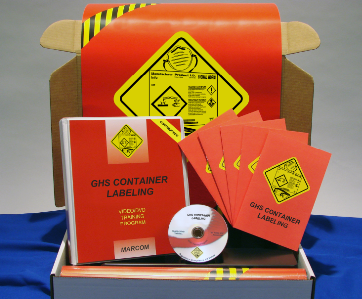 GHS Container Labels in Construction Environments DVD Kit (#K0003599ET)