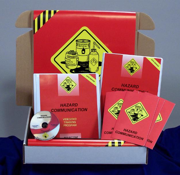 Hazard Communication in Auto Service Environments DVD Kit (#K0003529EO)