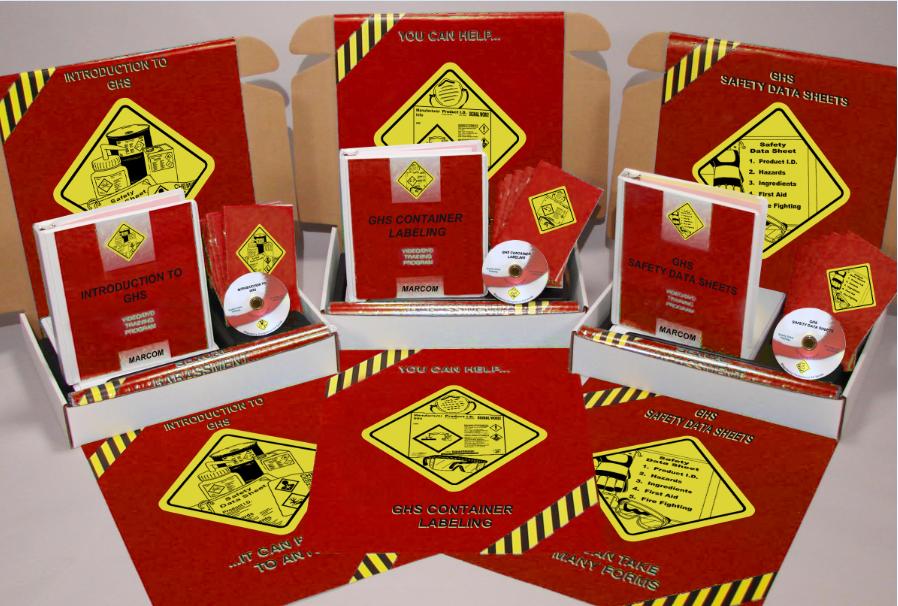 GHS Set of 3 Training DVD Kits (#K0001579EO)