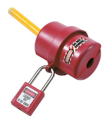Master Lock Rotating Electrical Plug Lockout (#LP487)