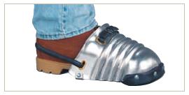 Men's Aluminum Alloy Foot Guard (#LW-200)