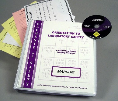Orientation to Laboratory Safety DVD Program (#V0001989EL)