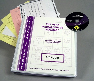 OSHA Formaldehyde Standard DVD Program (#V0001999EL)