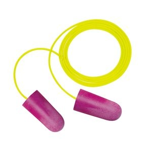 3M Nitro Earplugs, corded (#P1001)
