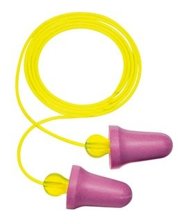 3M No-Touch Earplugs, corded (#P2001)