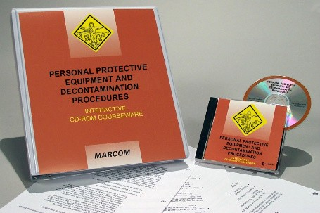 HAZWOPER: Personal Protective Equipment and Decontamination Procedures Interactive CD (#C0001860ED)