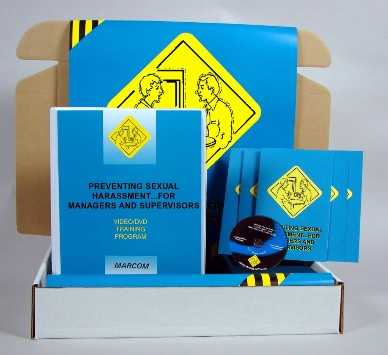 Preventing Sexual Harassment for Managers and Supervisors DVD Kit (#K0003759EM)