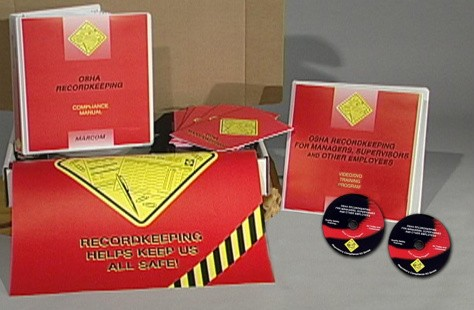 OSHA Recordkeeping for Managers, Supervisors, and Employees DVD Kit (#K0003029EO)