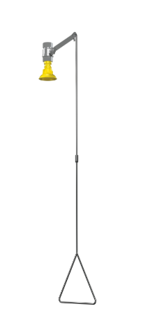 Vertical Supply – Barrier Free, Stainless Steel Showerhead (#S19-130ABF)