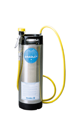 5 Gallon Portable Pressurized Face Wash Unit with Drench Hose Only (#S19-670)