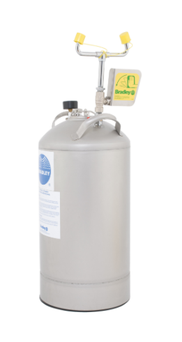10 Gallon Pressurized Eye/Face Wash Unit with Eyewash Only (#S19-690LHS)
